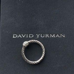 Vintage David Yurman Elements Pave Diamond Ball